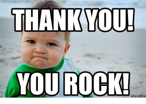 Clubmark Thank You!